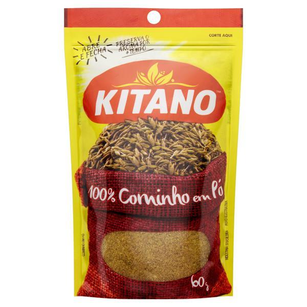 Cominho em Pó Kitano Pacote 60g