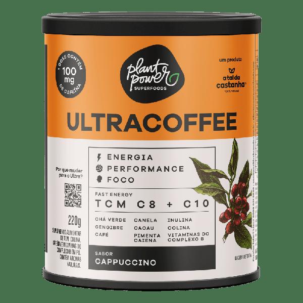 Ultra Coffee Capuccino Plant Power 220g - A tal da Castanha