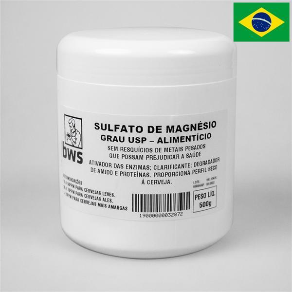 Sulfato de Magnésio U.S.P. 500g