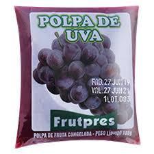 Polpa de Fruta FRUTPRES Integral Uva 100g