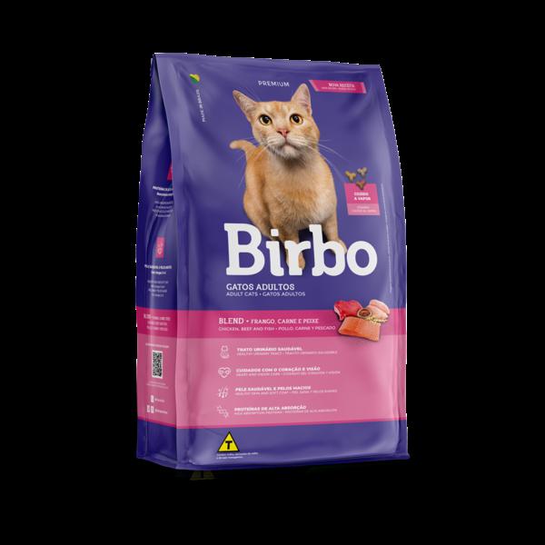 Ração Birbo Gatos Blend 1Kg