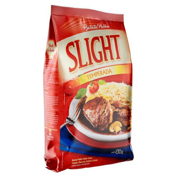 Batata Palha Salsa, Cebola, Pimenta, Azeite e Limão Slight Pacote 130g