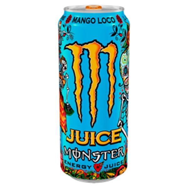 Energético Juice Monster Mango Loco Lata 473ml