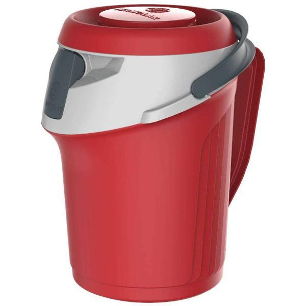 Garrafa Termica TERMOLAR Flip Top Vermelha 2,5L