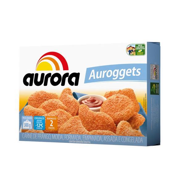 Empanado Auroggets Frango Tradicional  Aurora 300Gr