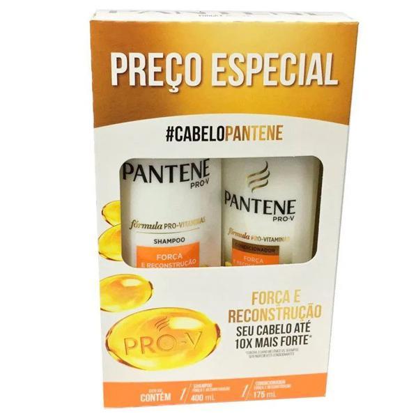 Shampoo + Condicionador PANTENE Pro-V Força e Reconstrução 400ml+175ml
