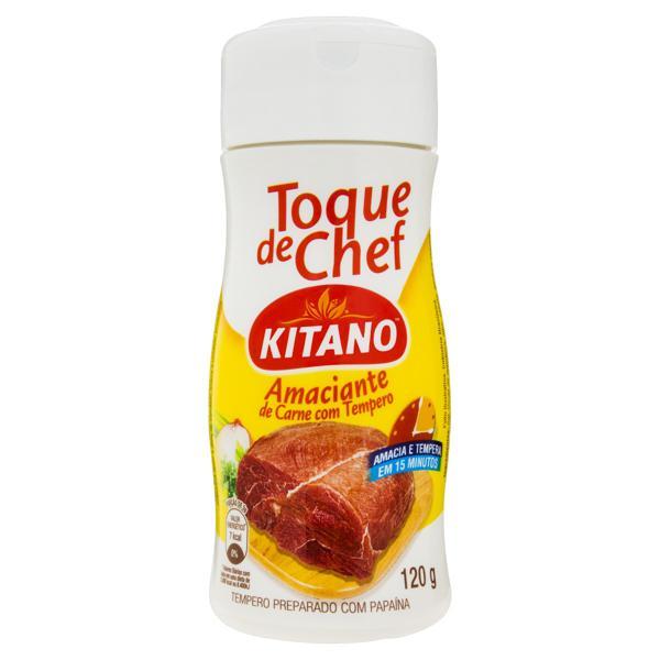 Amaciante de Carne com Tempero Toque de Chef Kitano Frasco 120g