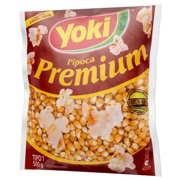 Milho para Pipoca Tipo 1 Yoki Premium Pacote 500g