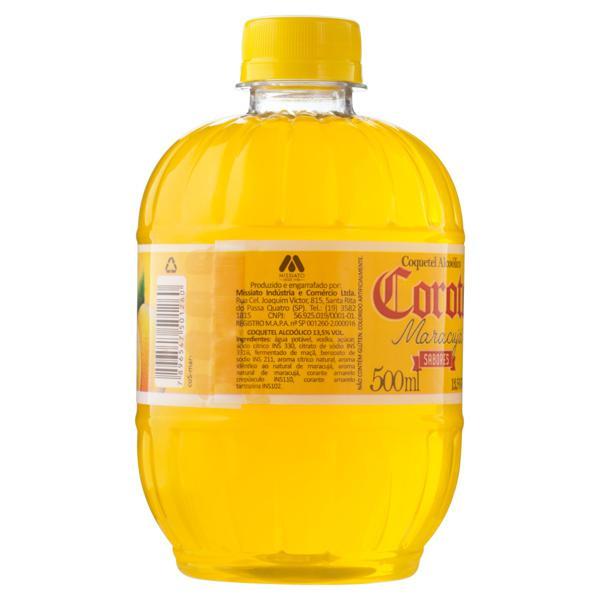 Coquetel Alcoólico Maracujá Corote Garrafa 500ml