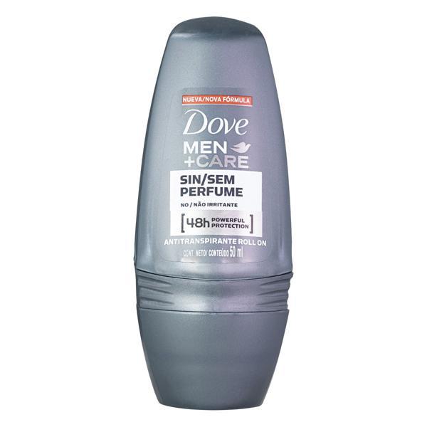 Desodorante Roll-On sem Perfume Dove Men+Care 50ml