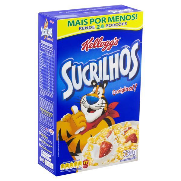 Cereal Matinal Kellogg's Sucrilhos Caixa 730g