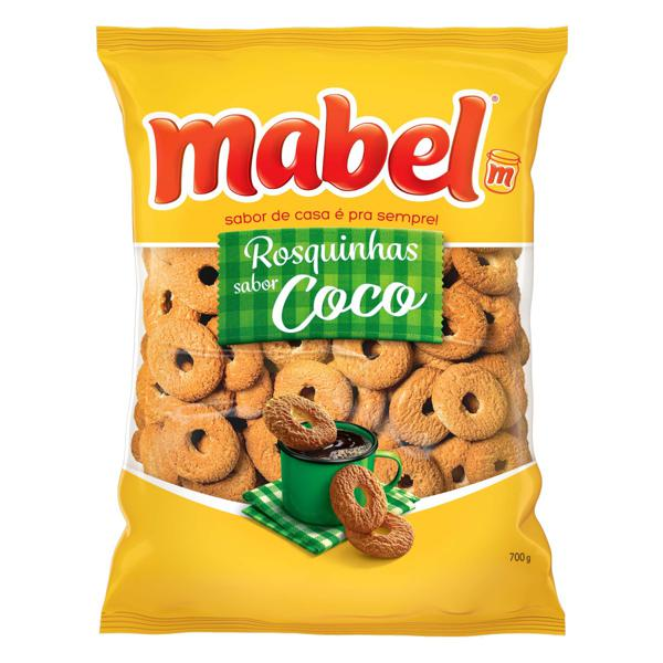 Biscoito Rosquinha Coco Mabel Pacote 700g