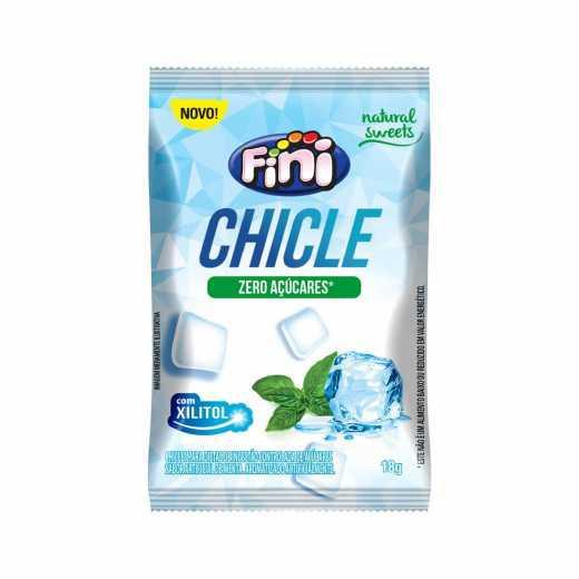 Chicle FINI Sem Açúcar 18g