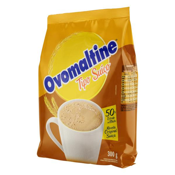 Achocolatado em Pó Suíço Mel Ovomaltine Pacote 300g