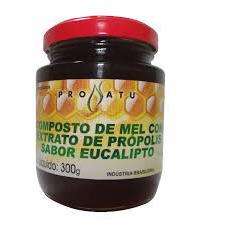 Mel Extrato de Própolis Eucalipto 300 g - Produto Natural