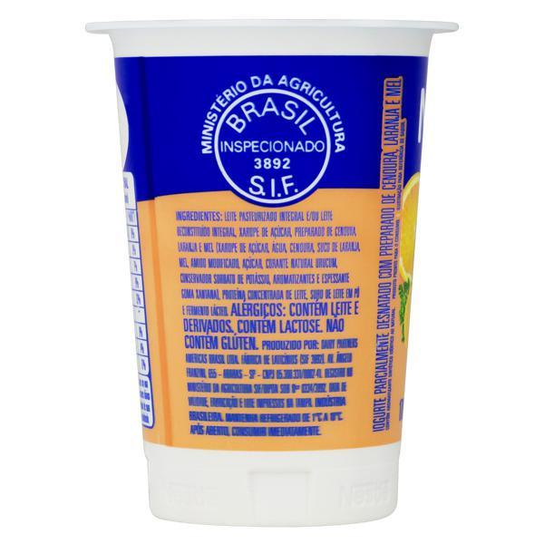 Iogurte Parcialmente Desnatado Cenoura, Mel e Laranja Nestlé Pote 170g