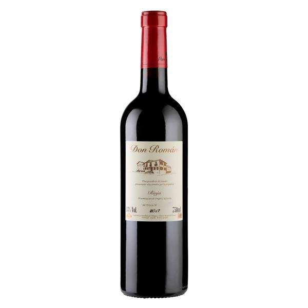 Vinho Espanhol Tinto Seco Don Román Tempranillo Rioja Garrafa 750ml