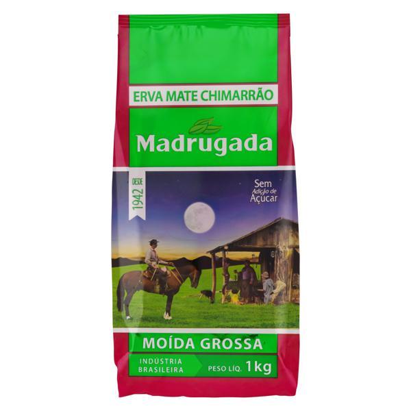 Erva-Mate Chimarrão Moída Grossa Madrugada Pacote 1kg