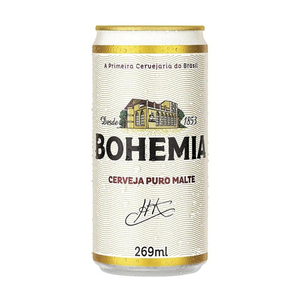 Cerveja Bohemia Puro Malte 269Ml Lata