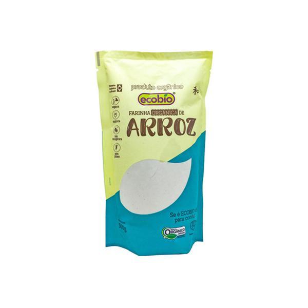 Farinha de Arroz Orgânica 500g - Ecobio