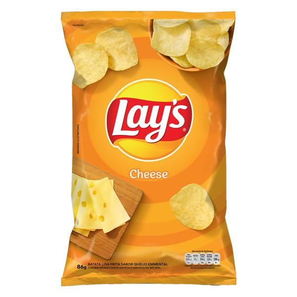 Batata Frita Lisa Cheese Lay's Pacote 86g
