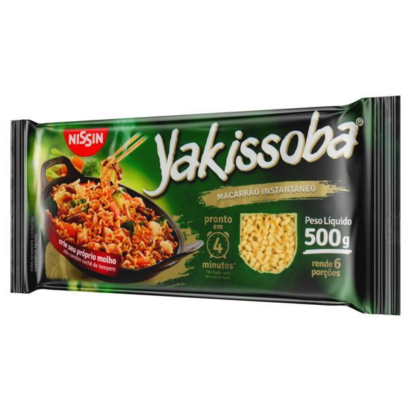 Macarrão Instantâneo Yakissoba Nissin 500g