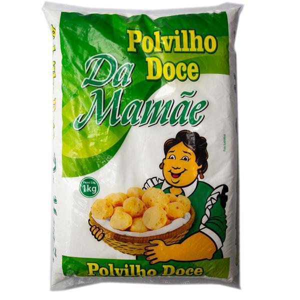 Polvilho Da Mamae Doce 1Kg Pacote