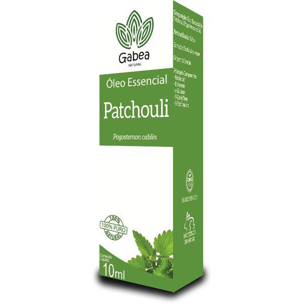 Óleo Essencial De Patchouli 10ml Gabea
