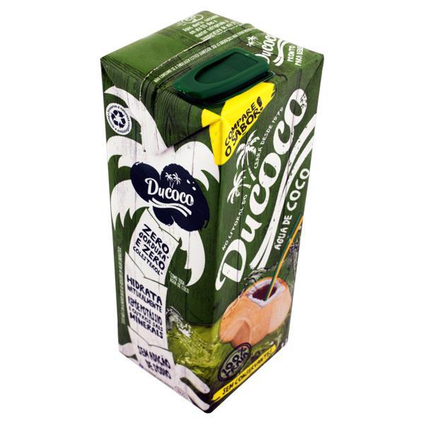 Água de Coco Esterilizada Ducoco Caixa 1l