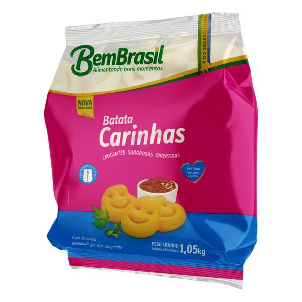Batata Pré-Frita Carinhas Congelada Bem Brasil Pacote 1,05kg