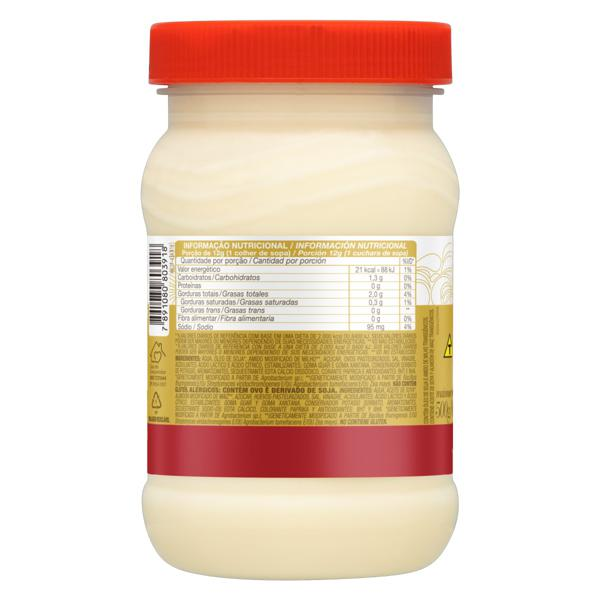 Maionese Caseira Soya Pote 500g