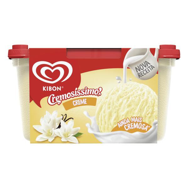 Sorvete Creme Kibon Cremosíssimo Pote 1,5l