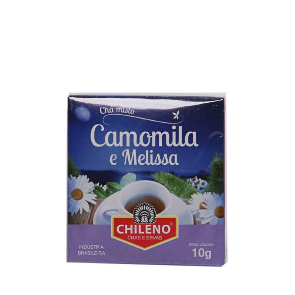 Chá Misto chileno 10g camomila e melissa