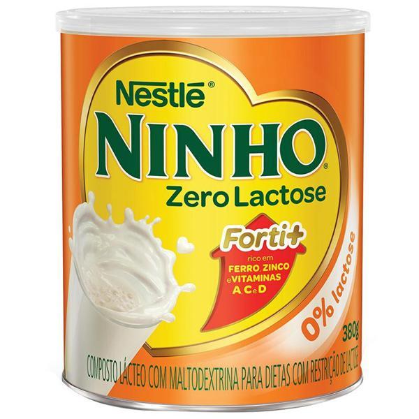 Composto Lácteo Ninho Nestlé Zero Lactose 380g