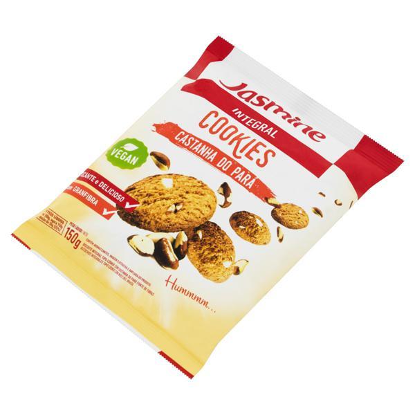 Biscoito Cookie Integral Castanha do Pará Jasmine Pacote 150g