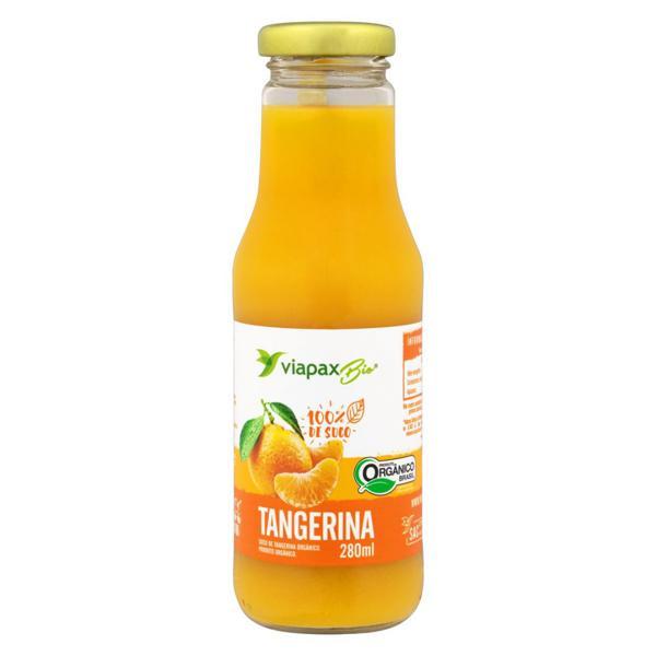 Suco de Tangerina Orgânico 280ml - Viapax