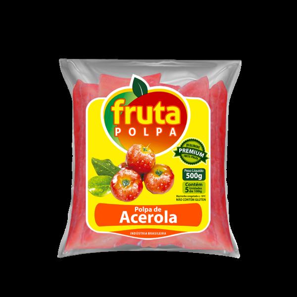 Polpa De Fruta Fruta Polpa Acerola 500G