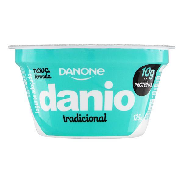 Iogurte Integral Tradicional Danio Pote 125g