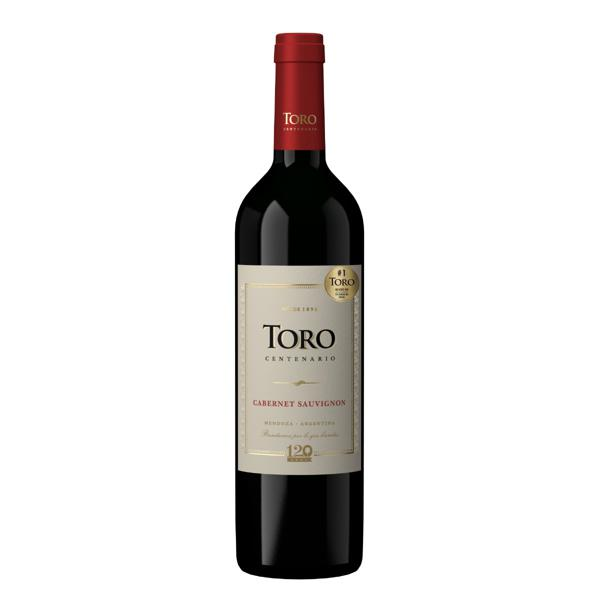 Vinho Argentino Tinto Meio Seco Toro Centenario Cabernet Sauvignon Mendoza Garrafa 750ml