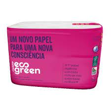 Papel Higienico Fd 12Und Eco Green