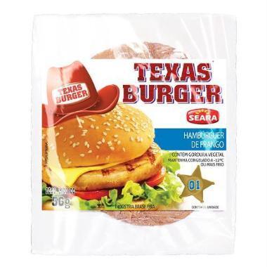 Hambúrguer SEARA Texas Frango 56g