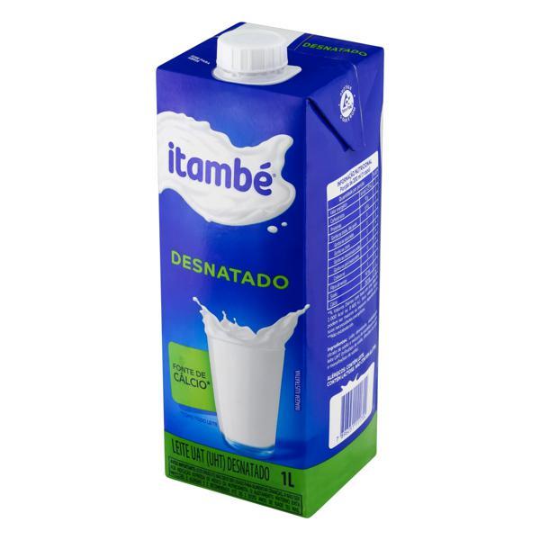 Leite UHT Desnatado Itambé Caixa com Tampa 1l