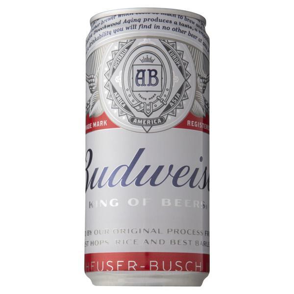Cerveja Pilsen Budweiser Lata 269ml