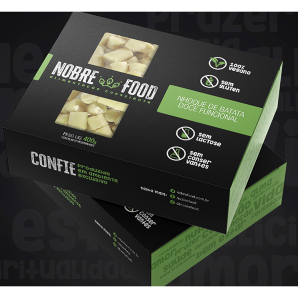 Nhoque Vegano Nobre Food Batata S/Gluten 400G