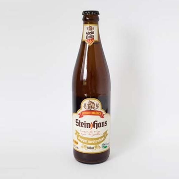 Cerveja Orgânica SteinHaus Doppel Weizen (500ml)