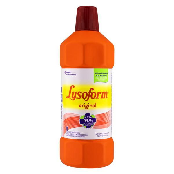 Desinfetante Uso Geral Original Lysoform Frasco 1l