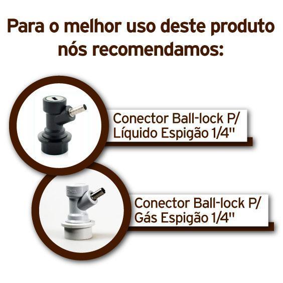 Barril Post Mix 9,45L com Alça - Novo