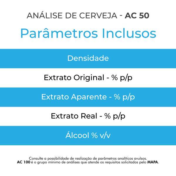 Análise de Cerveja - AC 50