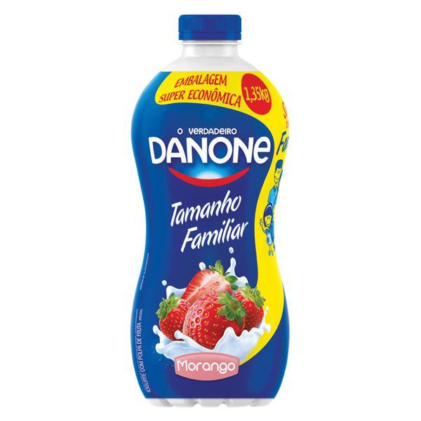Iogurte DANONE Morango Embalagem Familiar 1350g