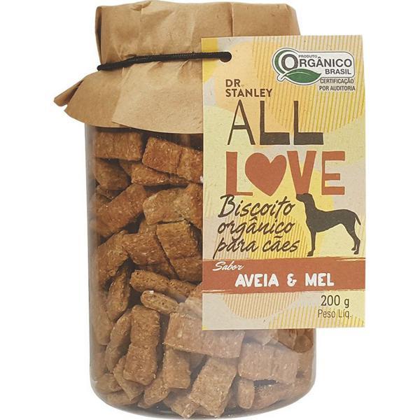 Biscoito Orgânico para Cães Aveia & Mel 200g - Dr. Stanley